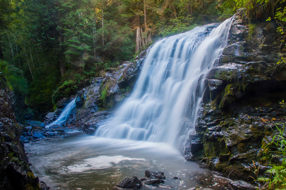 Laplash Falls, Mt. Baker-Snoqualmie National Forest, Washington, US