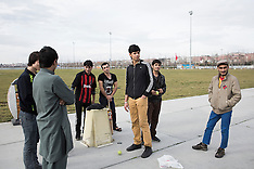 Afghan refugees in Istanbul