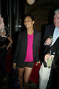 THANDIE NEWTON, Party after the opening of  A Memory, A Monologue, A Rant, and A Prayer  at Century Club.  Restless Buddha's fundraising event helping women around the world. All proceeds raised from the sale of tickets go to Women for Women International, V-Day and Domestic Violence Intervention Project. 26 March 2012