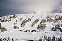 Winter at Brian Head Resort, Utah.