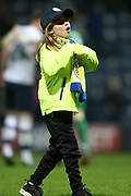Lone pitch invasion  during the EFL Sky Bet Championship match between Preston North End and Leeds United at Deepdale, Preston, England on 10 April 2018. Picture by Craig Galloway.
