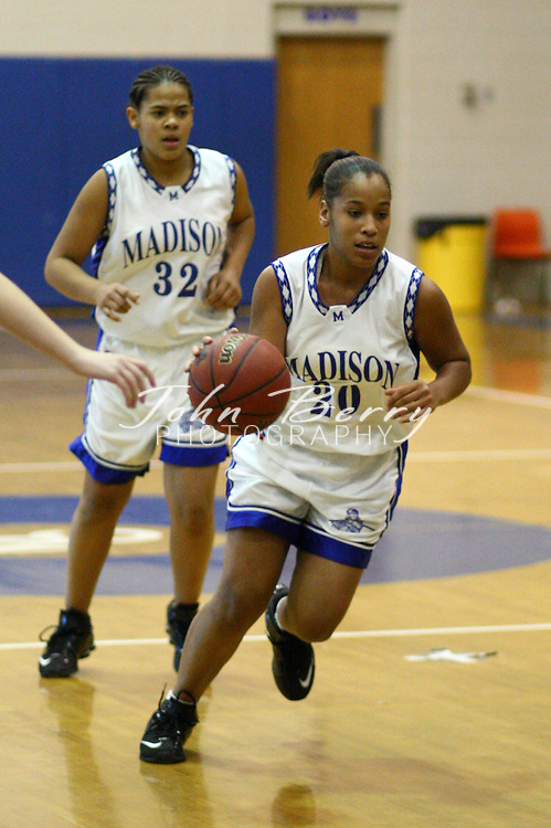 MCHS JV Girls Basketball.vs George Mason.1/24/08