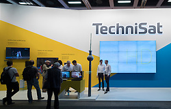 Technisat stand at 2016  IFA (Internationale Funkausstellung Berlin), Berlin, Germany