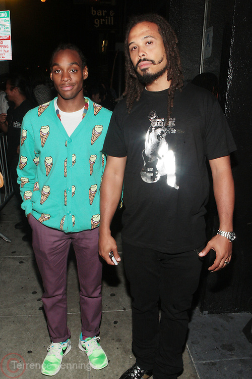 24 June-New York, NY-  l to r:  Bazaar Royale and Ricky Jackson at the 1st Annual Black Girl Rock! & Soul Tour Celebrating Dynamic Woman in Music - LA Jam Session Presented by GM and held at the Roxy on June 24, 2011 in Los Angeles, California . Photo Credit: Terrence Jennings