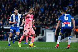 December 8, 2018 - Barcelona, BARCELONA, Spain - 22 Vidal of FC Barcelona during the Spanish championship La Liga football match between RCD Espanyol v FC Barcelona on December 08, 2018 at RCD Stadium stadium in Barcelona, Spain. (Credit Image: © AFP7 via ZUMA Wire)