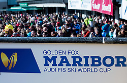 Feature during the 2nd Run of the 7th Ladies' Giant slalom at 52nd Golden Fox - Maribor of Audi FIS Ski World Cup 2015/16, on January 30, 2016 in Pohorje, Maribor, Slovenia. Photo by Vid Ponikvar / Sportida