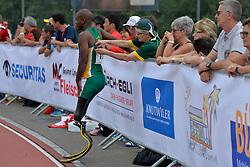 04/08/2017; Mahlangu, Ntando, F42, RSA at 2017 World Para Athletics Junior Championships, Nottwil, Switzerland