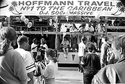 DJ Soca Massive, Notting Hill Carnival, London, 1989
