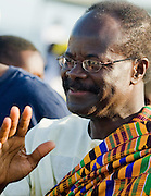 Convention People's Party (CPP) candidate Kwasi Nduom during a traditional festival in Cape Coast, Ghana on Saturday September 6, 2008..