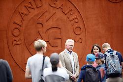 May 29, 2018 - Paris, Ile-de-France, France - Boris Becker seen in Paris during the tennis Roland Garros tournament. Boris Becker splits from wife Lilly. On May 29, 2018. (Credit Image: © Mehdi Taamallah/NurPhoto via ZUMA Press)