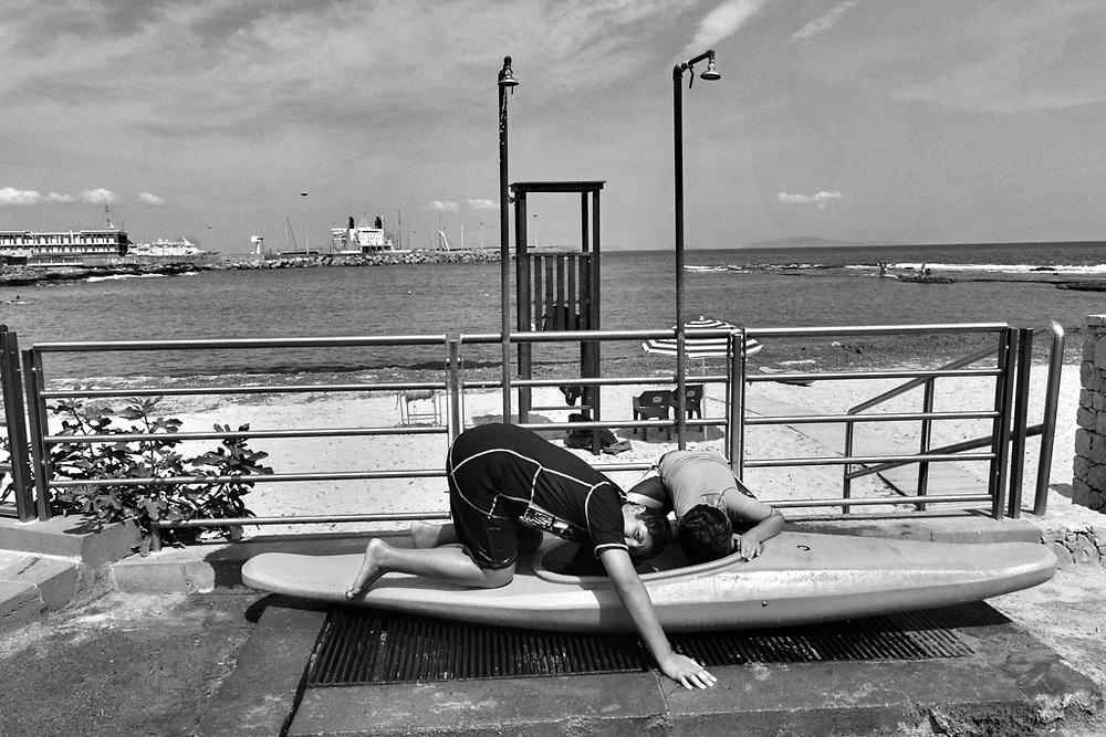 "Porto Torres 2012, Sardinia - Beach ""Lo Scoglio Lungo"""