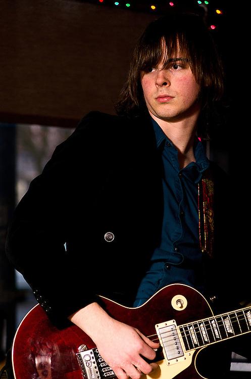 Zach Harski performing in The Graham Alexander band.