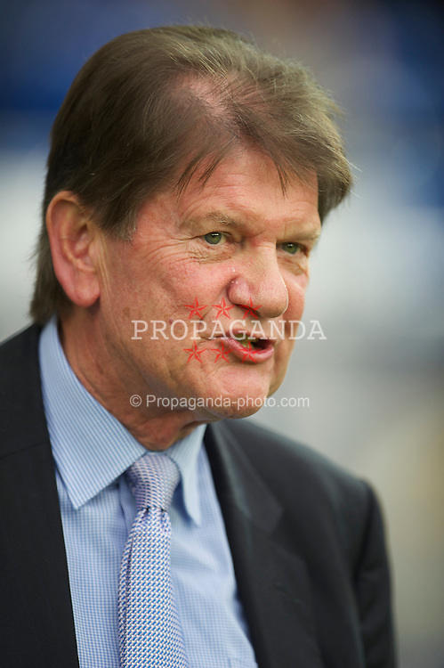 CARDIFF, WALES - Tuesday, May 17, 2011: Reading's Chairman John Madejski during the Football League Championship Play-Off Semi-Final 2nd Leg match against Cardiff City at the Cardiff City Stadium. (Photo by David Rawcliffe/Propaganda)