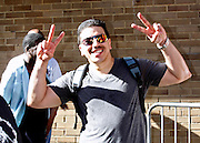 """Dancer Carlos attends the Paradise Garage Party """"Larry Levan Day"""" event on King Street in New York City, New York on May 11, 2014."""