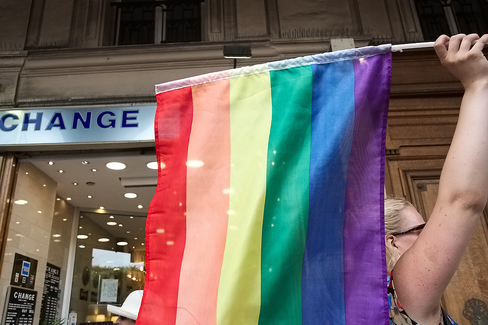 France, Paris, 24 June 2017. 40th edition of Gay pride, marche des fiertés LGBT.