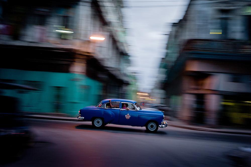 Street scene in Centro Havana, Cuba. October 30, 2012. Photo/Tomas Munita