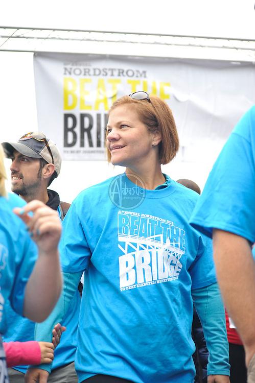 31st Annual Nordstrom Beat the Bridge, benefitting JDRF - Starting Line.