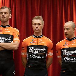 29-11-2018: Wielrennen: Team Roompot Charles: Kamperland<br />Lars Boom; Maurits Lammertink ; Michael van Staeyen;