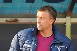 Miran Srebrnic, head coach of ND Gorica before football match between ND Gorica and ND Mura 05 in 20th Round of Prva liga NZS 2012/13, on November 24, 2012 in Nova Gorica, Slovenia. (Photo by Ales Cipot / Sportida).