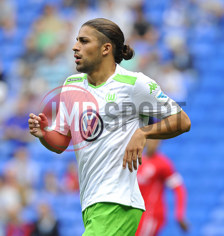 VfL Wolfsburg's Ricardo Rodriguez  - Photo mandatory by-line: Joe Meredith/JMP - Mobile: 07966 386802 02/08/2014 - SPORT - FOOTBALL - Cardiff - Cardiff City Stadium - Cardiff City v VfL Wolfsburg - Pre-Season Friendly