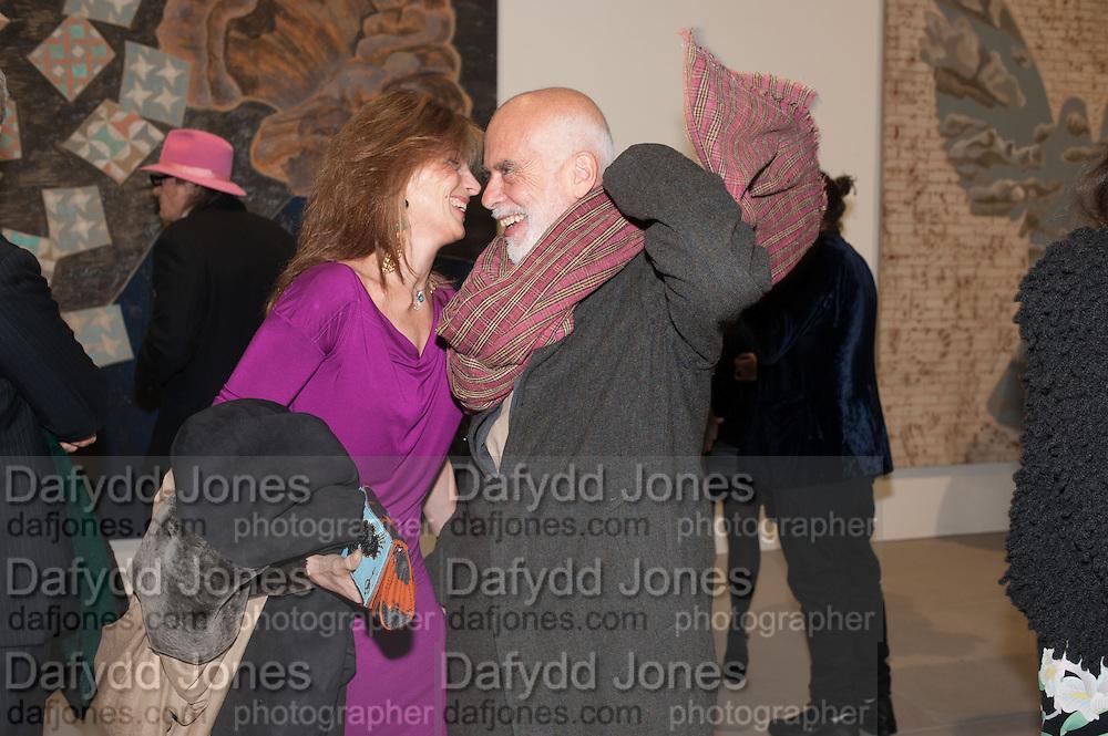 MARYAM SACHS; FRANCESCO CLEMENTE; , Mandala for Crusoe, Exhibition of work by Francesco Clemente. Blain/Southern. Hanover Sq. London. 29 November 2012