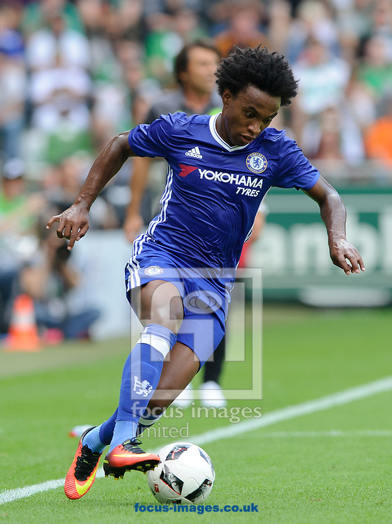 Willian of Chelsea during the pre season friendly match at Weserstadion, Bremen, Germany.<br /> Picture by EXPA Pictures/Focus Images Ltd 07814482222<br /> 07/08/2016<br /> *** UK &amp; IRELAND ONLY ***<br /> EXPA-EIB-160807-0239.jpg