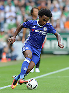 Willian of Chelsea during the pre season friendly match at Weserstadion, Bremen, Germany.<br /> Picture by EXPA Pictures/Focus Images Ltd 07814482222<br /> 07/08/2016<br /> *** UK & IRELAND ONLY ***<br /> EXPA-EIB-160807-0239.jpg