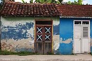 House in Corral Nuevo, Matanzas, Cuba.