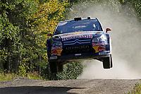 MOTORSPORT - WORLD RALLY CHAMPIONSHIP 2010 - NESTE OIL RALLY FINLAND / RALLYE DE FINLANDE - JYVASKYLA (FIN) - 29 TO 31/08/2010 - PHOTO : FRANCOIS BAUDIN / DPPI - <br /> KIMI RÄIKKÖNEN / KAJ LINDSTRÖM - CITROEN JUNIOR TEAM CITROEN C4 WRC - ACTION