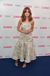 JENNA COLEMAN at the Glamour Women of The Year Awards in Association with Next held in Berkeley Square Gardens, Berkeley Square, London on 3rd June 2014.