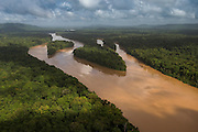 Cuyuni River<br /> GUYANA<br /> South America<br /> Longest river in Guyana