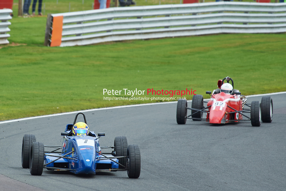 #7 Martin Short Van Diemen JL012K during Avon Tyres Formula Ford 1600 Northern Championship - Prost 89 Race 1 as part of the BRSCC Fun Cup Oulton Park 17th October 2015 at Oulton Park, Little Budworth, Cheshire, United Kingdom. October 17 2015. World Copyright Taylor/PSP. Copy of publication required for printed pictures.  Every used picture is fee-liable. http://archive.petertaylor-photographic.co.uk