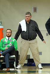 07 December 2016:  Matt Adams during an NCAA men's division 3 CCIW basketball game between the North Park Vikings and the Illinois Wesleyan Titans in Shirk Center, Bloomington IL