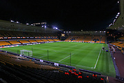 General view inside the stadium before the Europa League match between Wolverhampton Wanderers and Besiktas at Molineux, Wolverhampton, England on 12 December 2019.