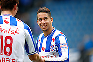 Onderwerp/Subject: SC Heerenveen - Eredivisie<br /> Reklame:  <br /> Club/Team/Country: <br /> Seizoen/Season: 2012/2013<br /> FOTO/PHOTO: Yassine El GHANASSI (R) of SC Heerenveen and Lukas MARECEK (L) of SC Heerenveen celebrating victory ( 3 - 2 ). (Photo by PICS UNITED)<br /> <br /> Trefwoorden/Keywords: <br /> #02 $94 ±1355241558607<br /> Photo- & Copyrights © PICS UNITED <br /> P.O. Box 7164 - 5605 BE  EINDHOVEN (THE NETHERLANDS) <br /> Phone +31 (0)40 296 28 00 <br /> Fax +31 (0) 40 248 47 43 <br /> http://www.pics-united.com <br /> e-mail : sales@pics-united.com (If you would like to raise any issues regarding any aspects of products / service of PICS UNITED) or <br /> e-mail : sales@pics-united.com   <br /> <br /> ATTENTIE: <br /> Publicatie ook bij aanbieding door derden is slechts toegestaan na verkregen toestemming van Pics United. <br /> VOLLEDIGE NAAMSVERMELDING IS VERPLICHT! (© PICS UNITED/Naam Fotograaf, zie veld 4 van de bestandsinfo 'credits') <br /> ATTENTION:  <br /> © Pics United. Reproduction/publication of this photo by any parties is only permitted after authorisation is sought and obtained from  PICS UNITED- THE NETHERLANDS