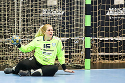 Misa Marincek of RK Krim Mercator during handball match between RK Zagorje and RK Krim Mercator in Final game of Slovenian Women Handball Cup 2017/18, on April 1, 2018 in Park Kodeljevo, Ljubljana, Slovenia. Photo by Matic Klansek Velej / Sportida
