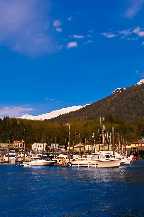 Harbor, Ketchikan, Southeast Alaska USA