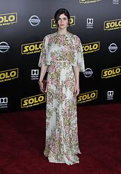 Solo: A Star Wars Story Premiere - Los Angeles. 10 May 2018 Pictured: Alexandra Daddario. Photo credit: Jaxon / MEGA TheMegaAgency.com +1 888 505 6342