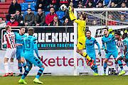 TILBURG - 19-02-2017, Willem II - AZ, Koning Willem II Stadion, 1-1, AZ keeper Tim Krul