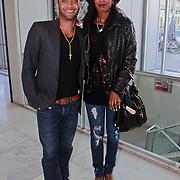 NLD/Amsterdam/20110520 - Premiere Man in the Mirror, Jasmine Sendar en partner Ruben Heerenveen