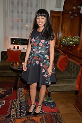 LONDON, ENGLAND 1 DECEMBER 2016: Melissa Hemsley at the Smythson & Brown's Hotel Christmas Party held at Brown's Hotel, Albemarle St, Mayfair, London, England. 1 December 2016.
