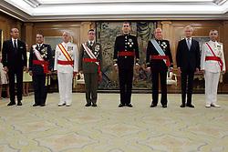 19.06.2014, Congreso de los Diputados, Madrid, ESP, Inthronisierung, König Felipe VI, im spanischen Abgeordnetenhaus, im Bild King Felipe VI of Spain // during the Enthronement ceremonies of King Felipe VI at the Congreso de los Diputados in Madrid, Spain on 2014/06/19. EXPA Pictures © 2014, PhotoCredit: EXPA/ Alterphotos/ EFE/Pool<br /> <br /> *****ATTENTION - OUT of ESP, SUI*****