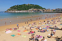 Playa de la Concha, San Sebastian, Donostia, Spain, May, 2015, 201505101018<br />