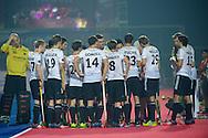 07 GER vs NED : team Germany at quarter time