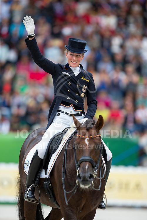 Helen Langehanenberg, (GER), Damon Hill NRW - Grand Prix Special Dressage - Alltech FEI World Equestrian Games&trade; 2014 - Normandy, France.<br /> &copy; Hippo Foto Team - Leanjo de Koster<br /> 25/06/14,