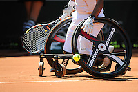 Illustration Tennis Fauteuil  - 04.06.2015 - Jour 12 - Roland Garros 2015 <br />