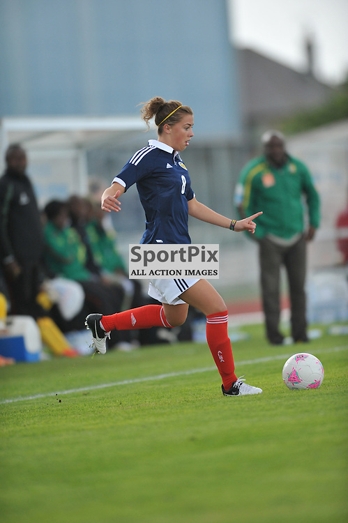 Nicola Doherty during the Cameroon vs Scotland in pre Olympic warm up match. 15th July 2012.