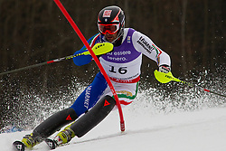 19.02.2011, Gudiberg, Garmisch Partenkirchen, GER, FIS Alpin Ski WM 2011, GAP, Herren, Slalom, im Bild Cristian Deville (ITA) // Cristian Deville (ITA) during Men's Slalom Fis Alpine Ski World Championships in Garmisch Partenkirchen, Germany on 20/2/2011. EXPA Pictures © 2011, PhotoCredit: EXPA/ M. Gunn