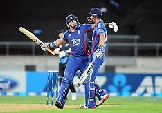 Wellington-Cricket, 20/20 England v New Zealand, February 15