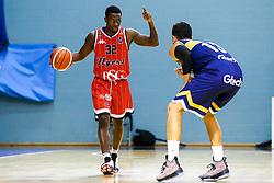 Jalan McCloud of Bristol Flyers - Mandatory by-line: Robbie Stephenson/JMP - 05/10/2018 - BASKETBALL - University of Worcester Arena - Worcester, England - Bristol Flyers v Worcester Wolves - British Basketball League